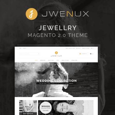 Jwenux - Magento 2 Jewelry Theme