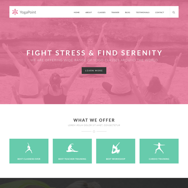 YogaPoint - WordPress Yoga Theme