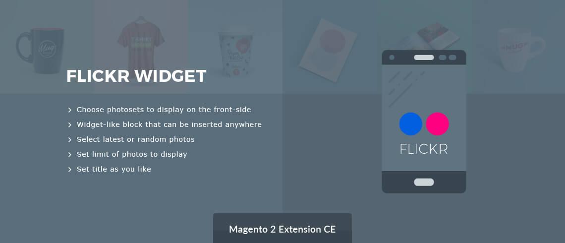 Flickr Widget Magento 2 extension