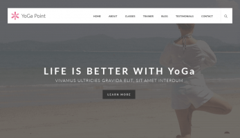 YogaPoint – Home page Banner