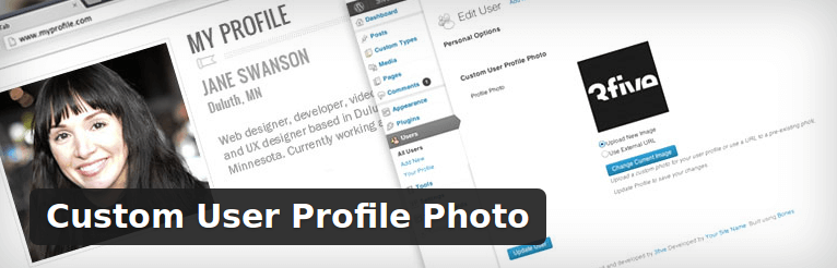 Custom User Profile Photo - WordPress Plugin