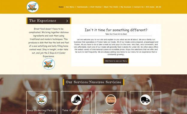 Showcase - FoodFork WordPress Theme