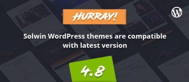 WordPress v4.8 Themes