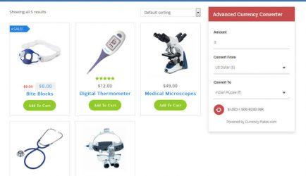 Advanced Currency Converter - WordPress Plugin