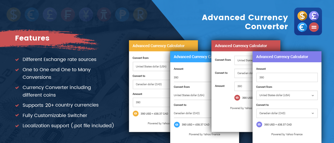 advanced currency converter wordpress plugin