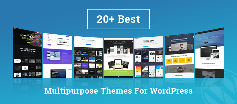 Multipurpose WordPress Themes 2018