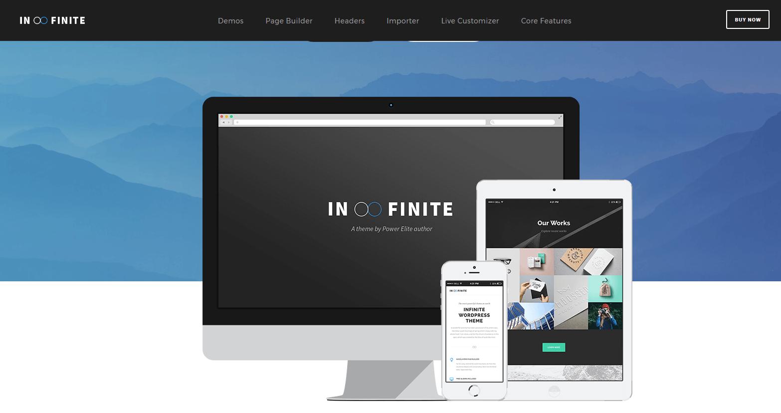 Infinite WordPress Theme