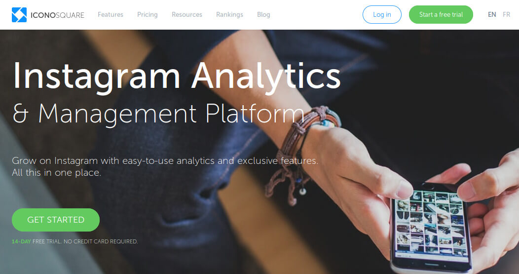 Instagram Analytics Marketing Tool Iconosquare