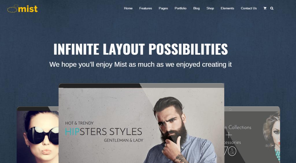 Mist – Best Multipurpose Responsive Theme