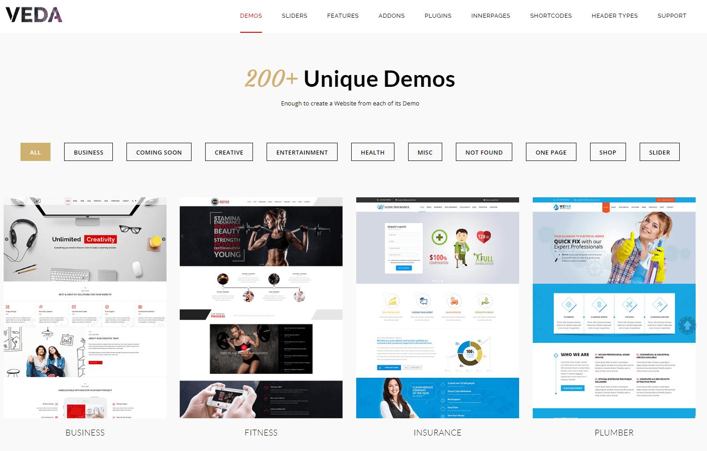Veda WordPress Theme