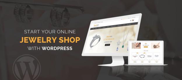 Start Online Jewelry Shop with WordPress