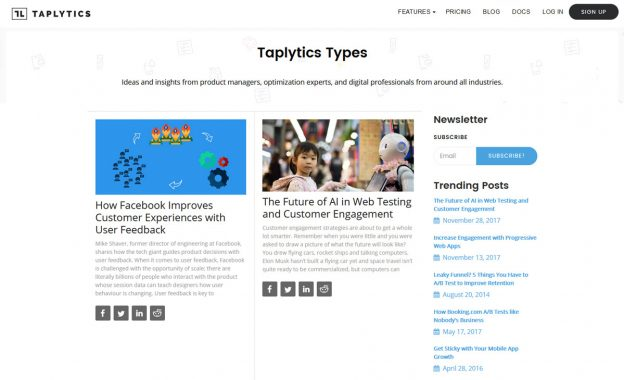 Showcase - Blog Designer PRO