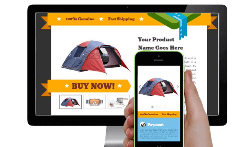 Mobile Friendly E commerce Site