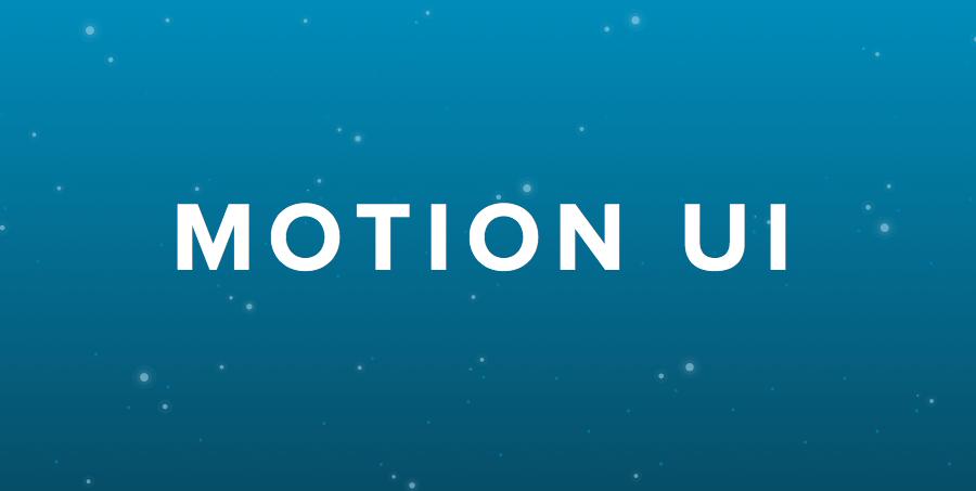 MotionUI