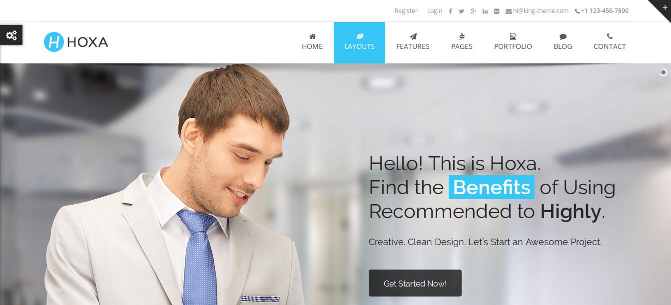 Hoxa – Multipurpose WordPress Theme