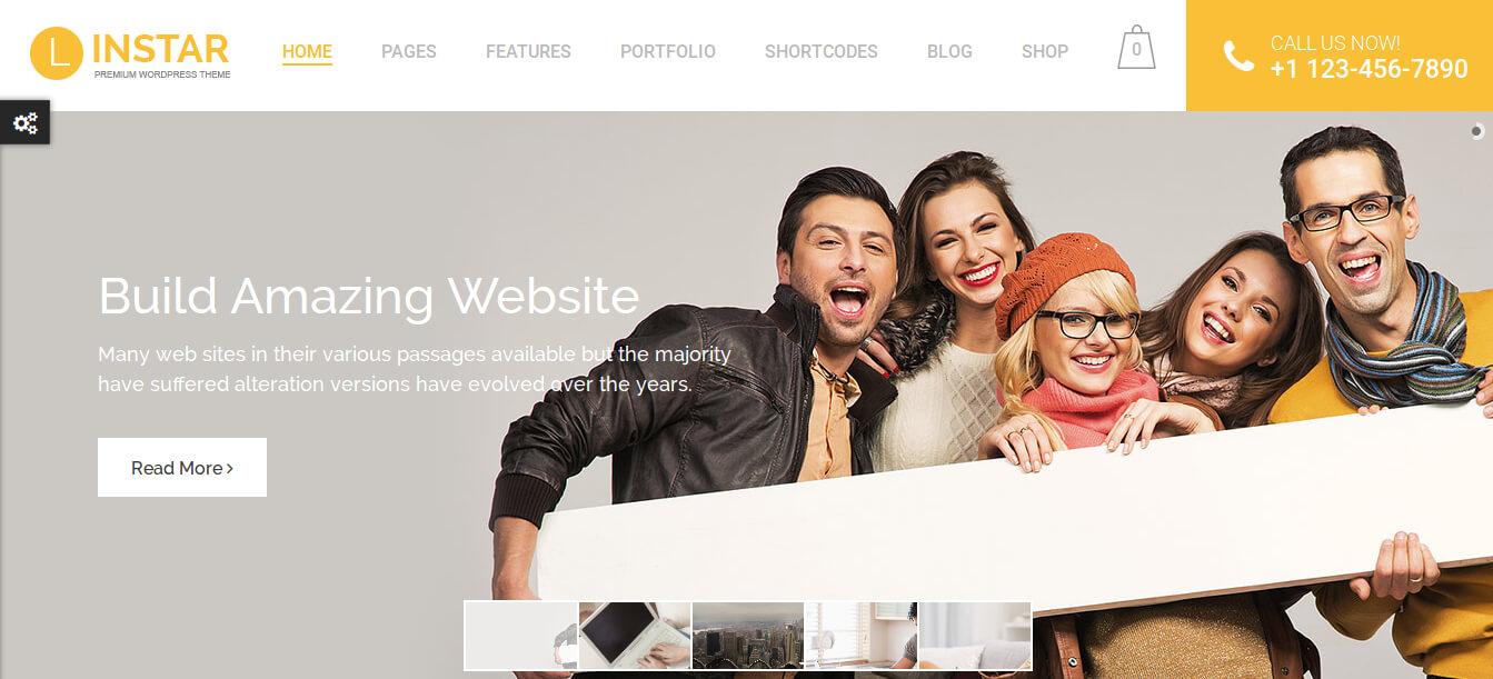 Linstar - MultiPurpose WordPress Theme