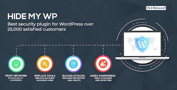 Hide my WP - WordPress plugin