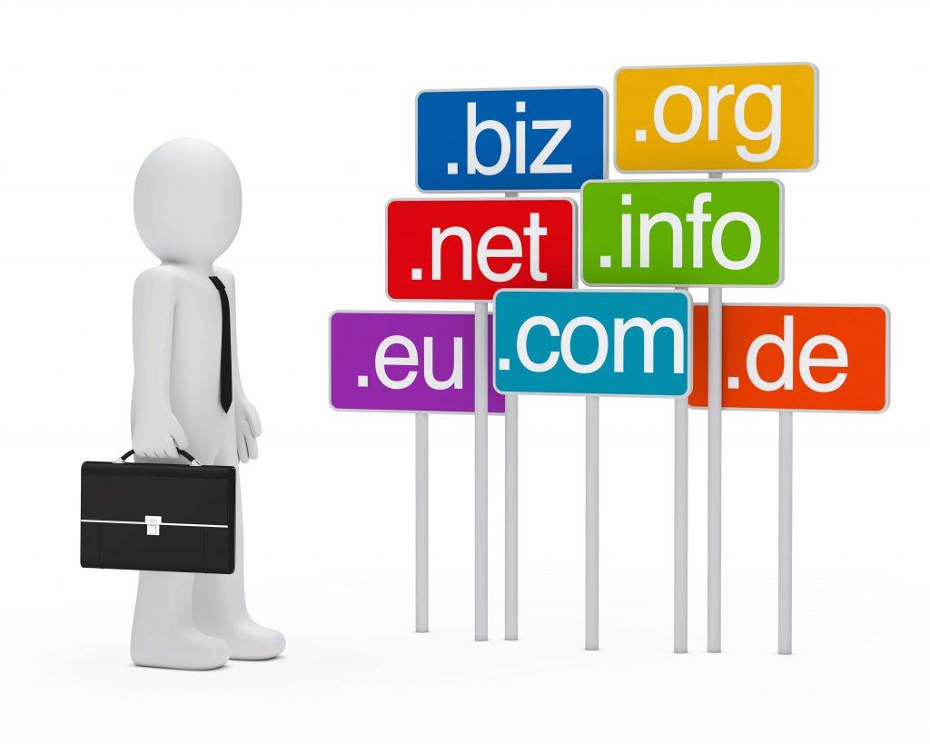 unique domain name