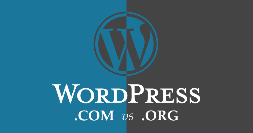 wordpress.com vs org difference