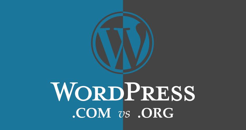 wordpress.com vs org difference