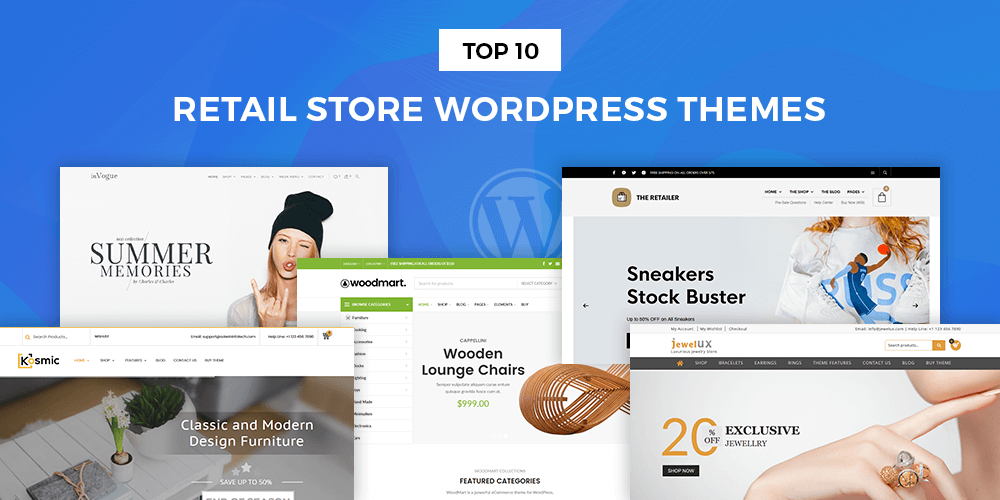 Best Retail Store WordPress Themes