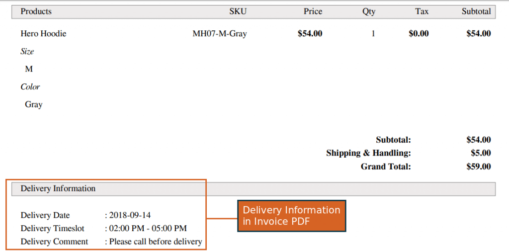 Delivery Date for Magento 2 extension