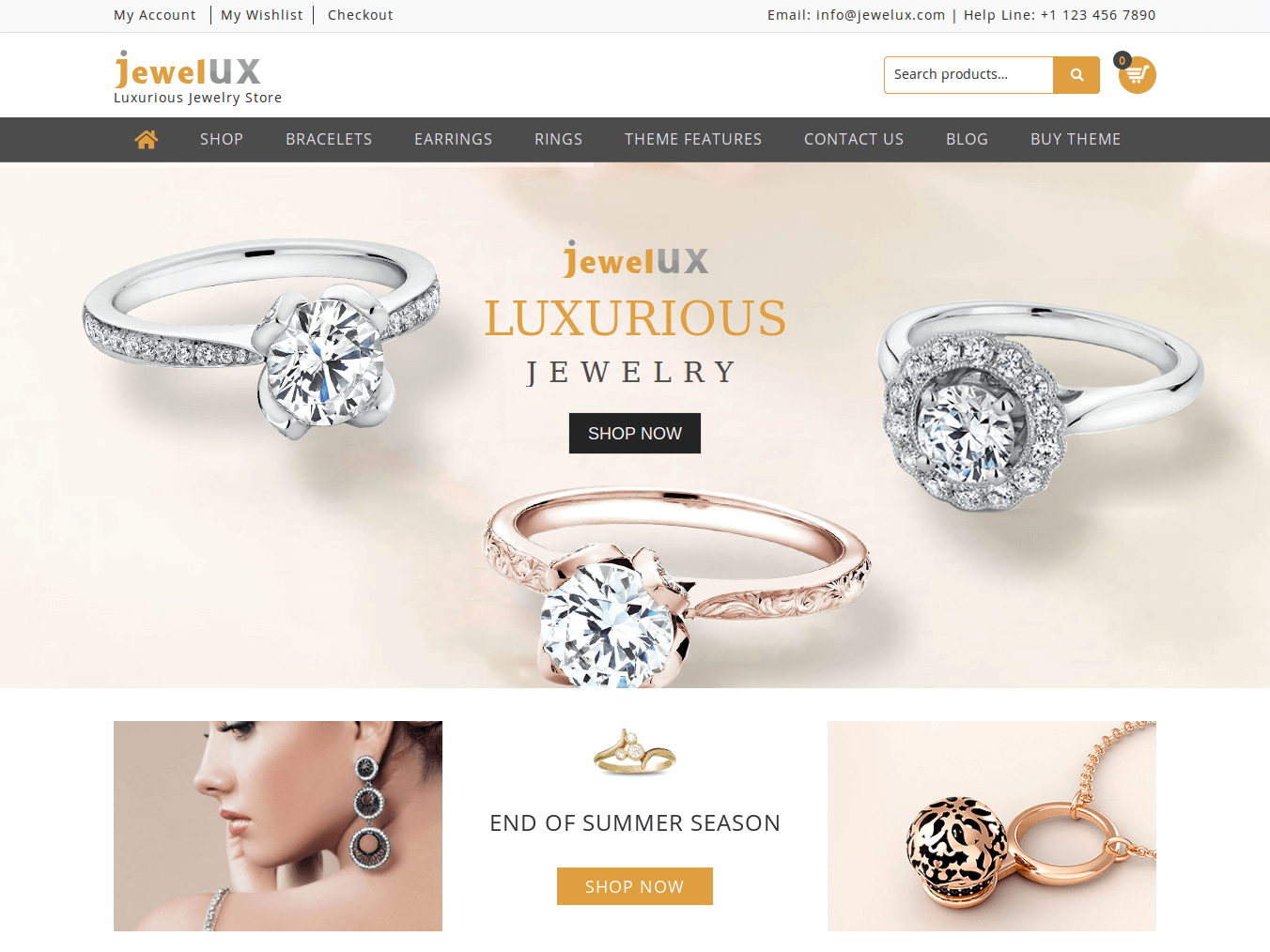 JewelUX WordPress Theme