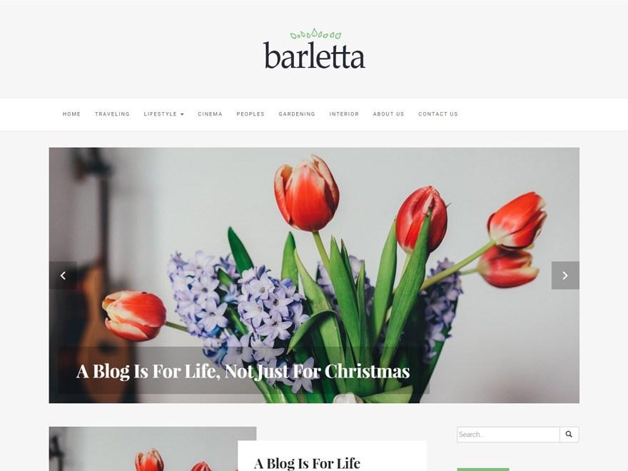 Barletta WordPress Theme