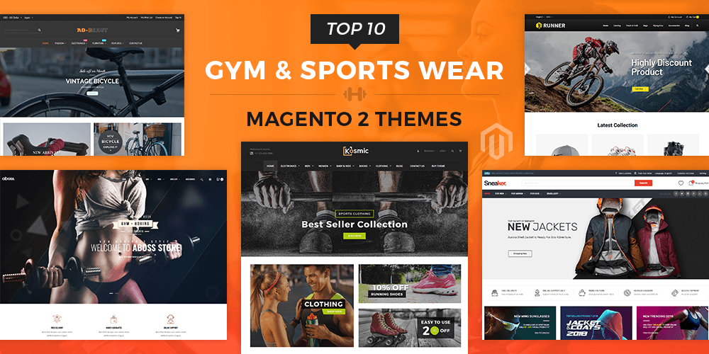 Fitness, Gym and Sports Magento 2 Themes