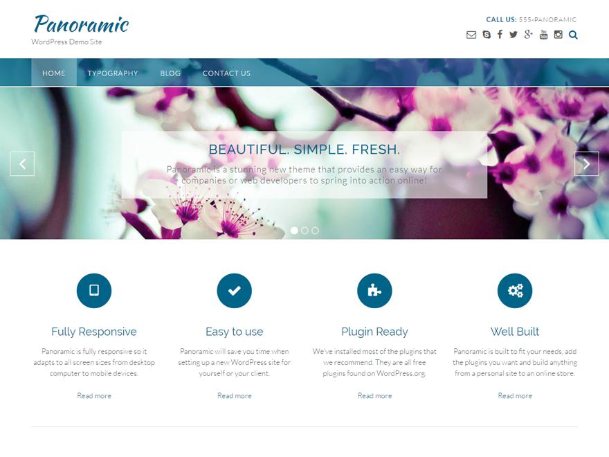 Panoramic WordPress Theme