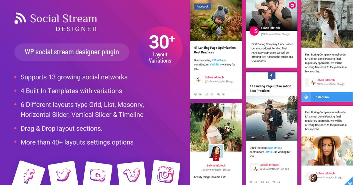 Social-stream-designer-wordpress-plugin - 1200X630