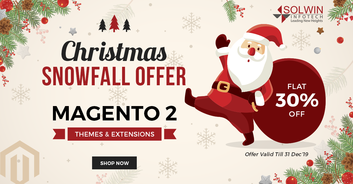 Christmas Sale 2019 - Magento 2 Extensions & Themes - Solwin Infotech