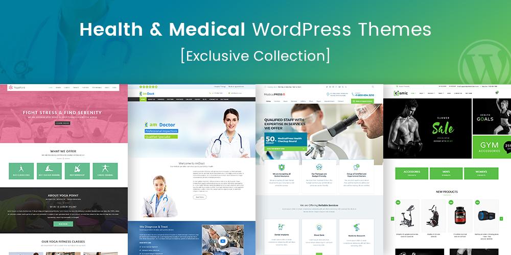 Health And Medical WordPress Themes