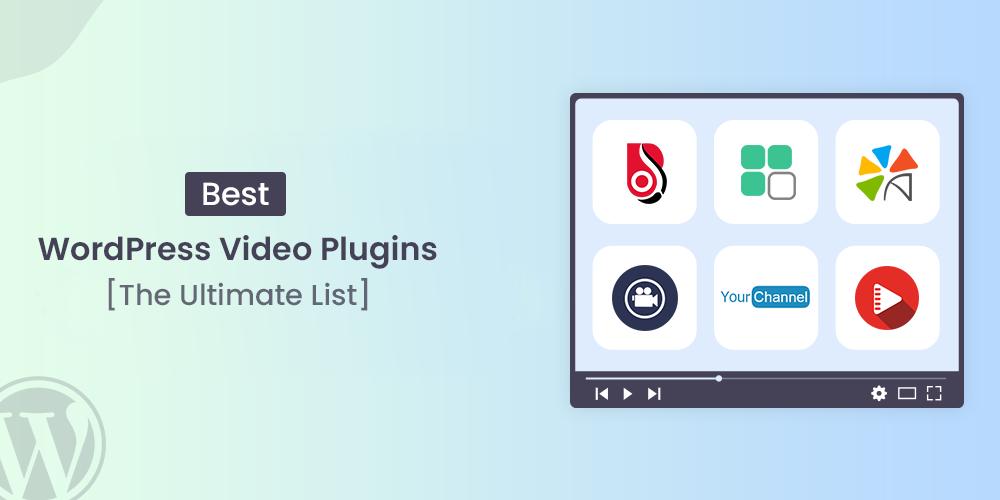 best video wordpress plugins