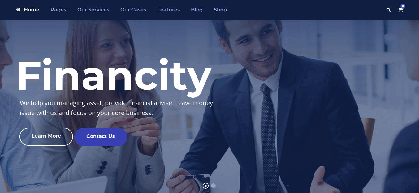 Financity WordPress Theme