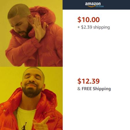 Shipping Extra