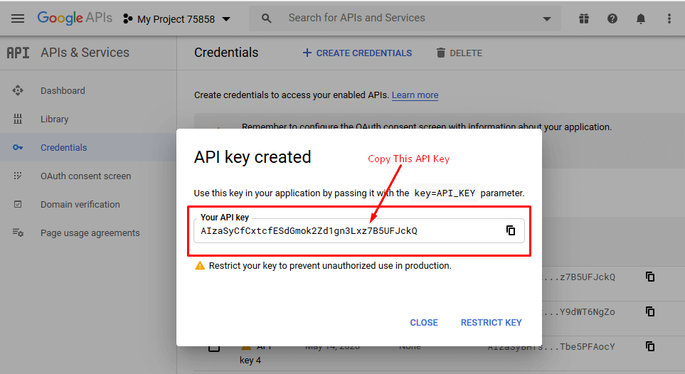 API-Key