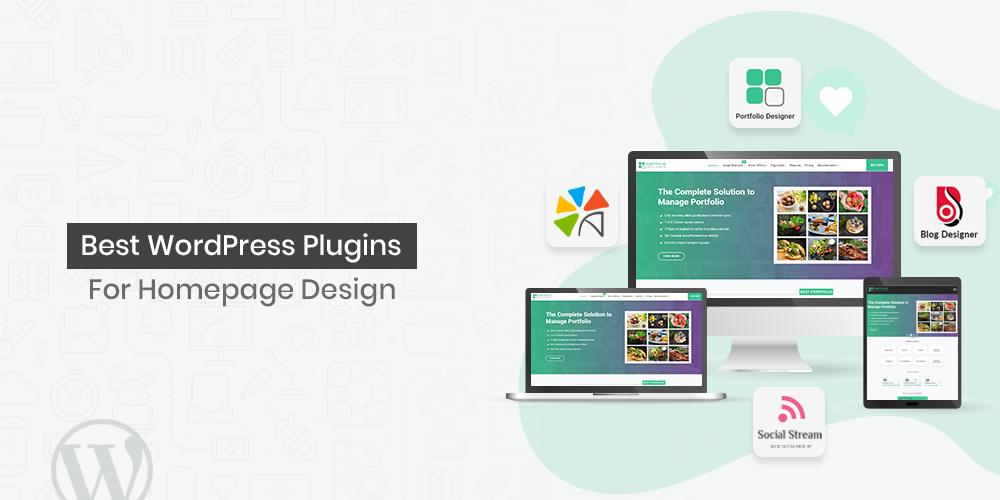 Homepage Design WordPress Plugins