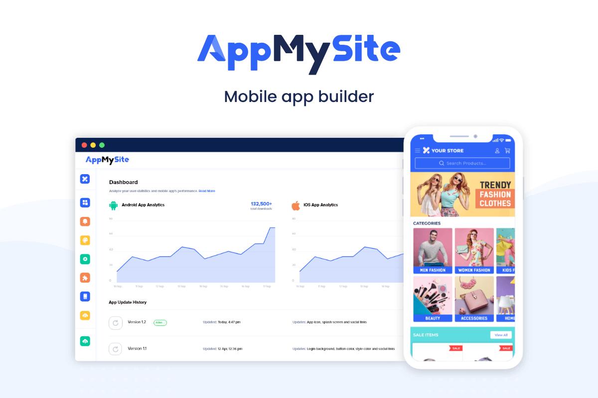 AppMySite - Mobile App Builder