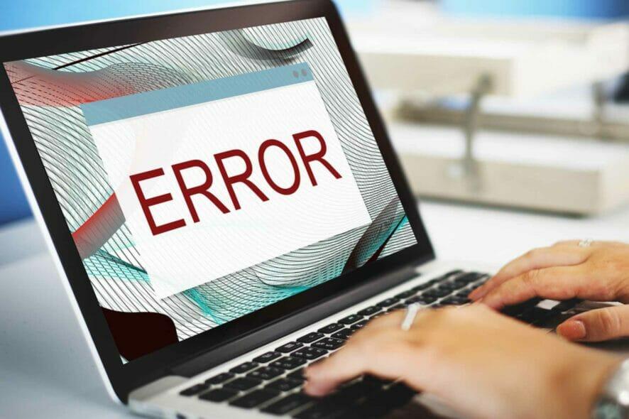 technical error
